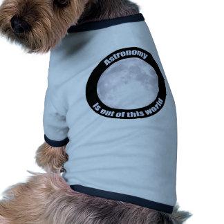 Astronomy Full Moon Doggie Shirt