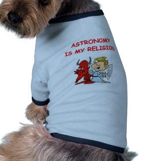 astronomy joke doggie tshirt
