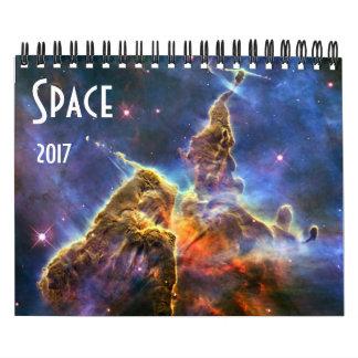 Astronomy NASA Space Universe Galaxy 2017 Wall Calendar