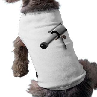 Astronomy Science Telescope Dog T Shirt