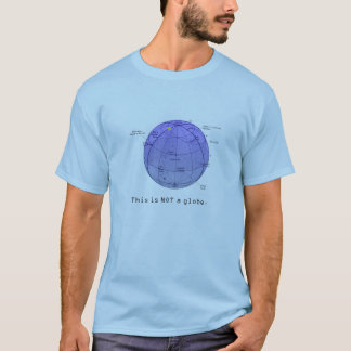 Astronomy Series - This is NOT a globe. T-Shirt