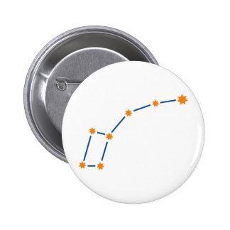 astronomy-ursa-minor-2 6 cm round badge