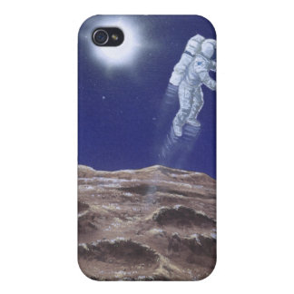 Astronuat Above Mercury iPhone 4 Cover