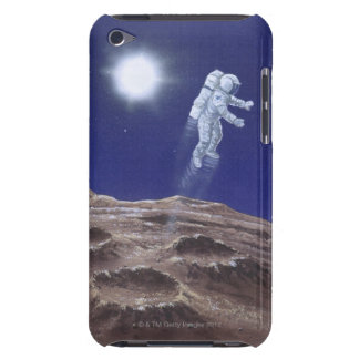 Astronuat above Mercury iPod Touch Case