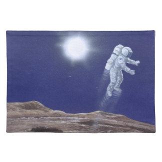 Astronuat Above Mercury Placemat