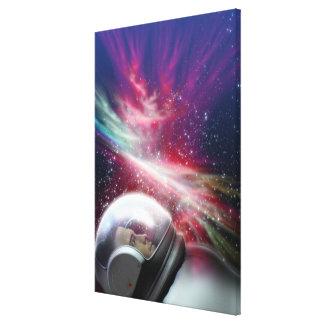 Astronuat Canvas Print