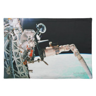 Astronuat Working in Space Placemat