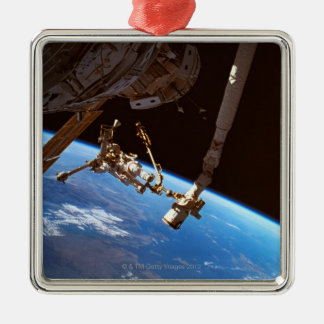 Astronuats Walking Christmas Ornament