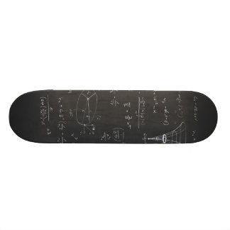 Astrophysics diagrams and formulas 21.6 cm skateboard deck