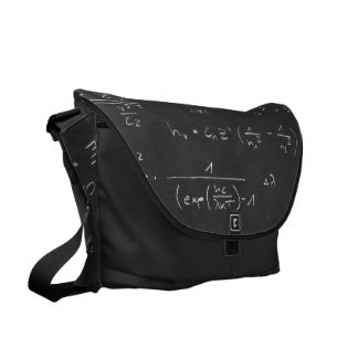 Astrophysics diagrams and formulas commuter bags