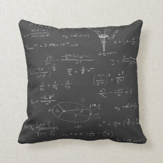 Astrophysics diagrams and formulas cushion