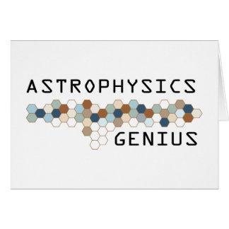 Astrophysics Genius Cards