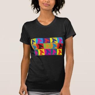 Astrophysics Pop Art Tee Shirts