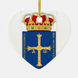 Asturias Coat of Arms (Spain) Christmas Ornament