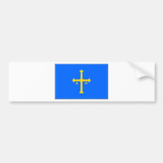Asturias Flag (Spain) Bumper Sticker