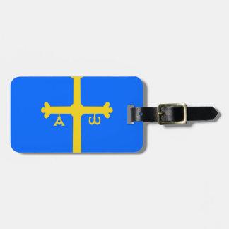 Asturias Flag (Spain) Luggage Tag