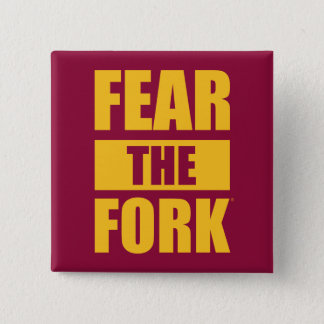 ASU Fear the Fork 15 Cm Square Badge