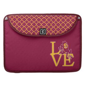 ASU Love | Quatrefoil Pattern Sleeve For MacBook Pro