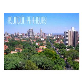 Asunción Paraguay Postcard