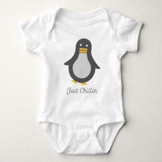 Asv Penguin Baby Bodysuit