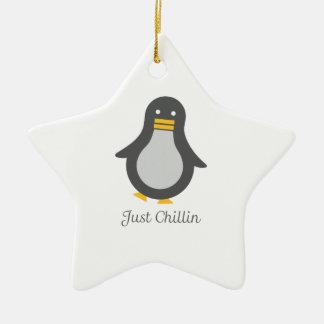 Asv Penguin Christmas Ornament
