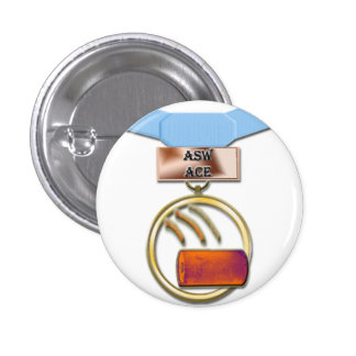 ASW Ace medal button