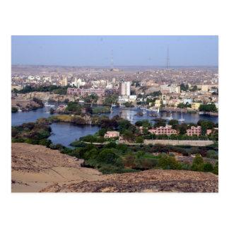 aswan nile post cards