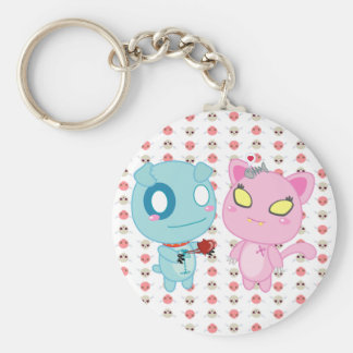 Asyl & Nadel Valentine - My Heart is Yours Basic Round Button Key Ring