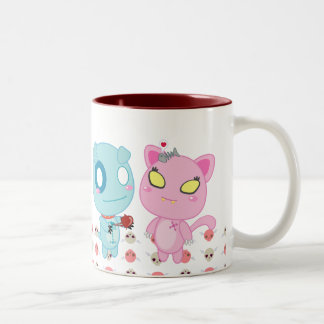 Asyl & Nadel Valentine - My Heart is Yours Two-Tone Coffee Mug