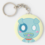 Asyl the Dog Key Chains