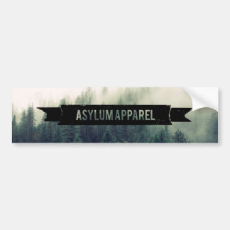 Asylum Apparel Bumper Sticker