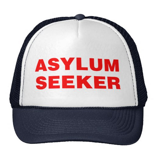 ASYLUM SEEKER HATS
