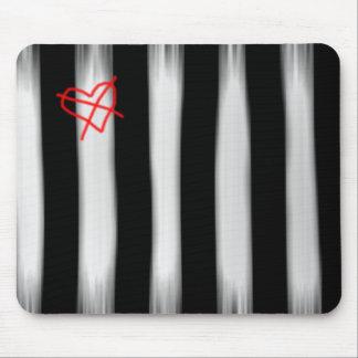 Asylum Stripes Mouse Pad