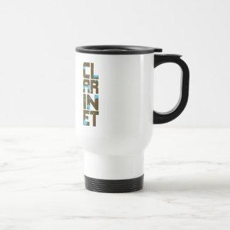 Asymmetrical Clarinet Mug