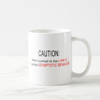 Asymptotic behavior basic white mug