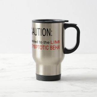 Asymptotic behavior stainless steel travel mug