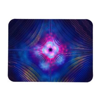 Asymptotic Groove Rectangular Photo Magnet