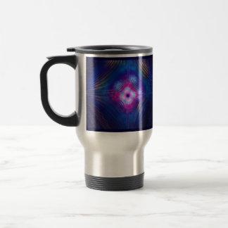 Asymptotic Groove Stainless Steel Travel Mug
