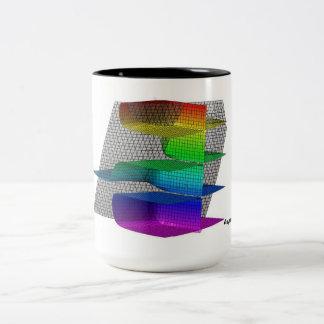 Asymptotically Close! Two-Tone Coffee Mug