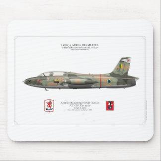 AT-26 Xavante (EMB-326G) - Brazilian Air Force Mouse Mat