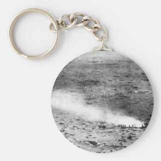 At a height of 150 meters above the _war image basic round button key ring
