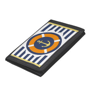 At Anchor Tri-fold Wallet