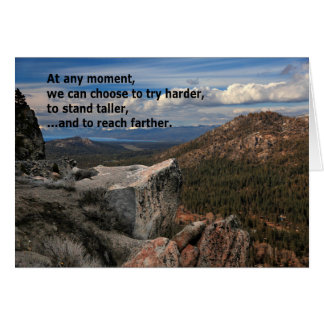 At Any Moment Motivational Greeting Cards