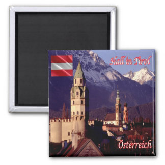 AT - Austria - Hall in Tirol Magnet
