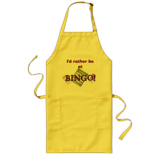 AT BINGO! LONG APRON
