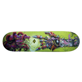 At Creation's Spark - Graffiti Streetart Sk8 Deck Skateboard Deck
