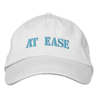 """At Ease"" adjustable chino cap Embroidered Baseball Caps"