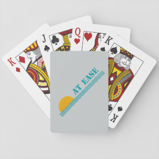 """""""At Ease"""" custom playing cards"""