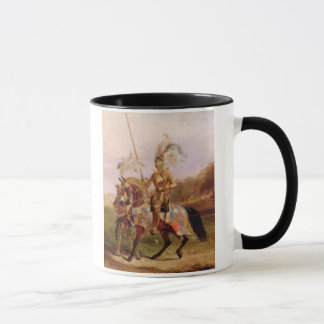 At Eglinton, Lord of the Tournament, 1840 (oil on Mug