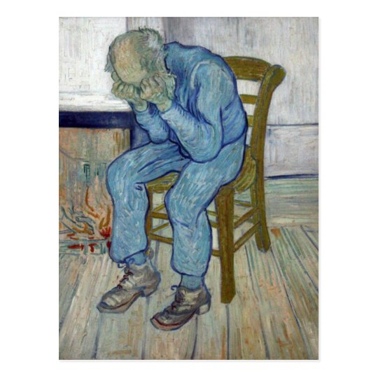 At Eternity's Gate by Vincent van Gogh Postcard